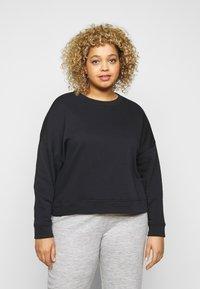 Pieces Curve - PCCHILLI - Sweatshirt - black - 0