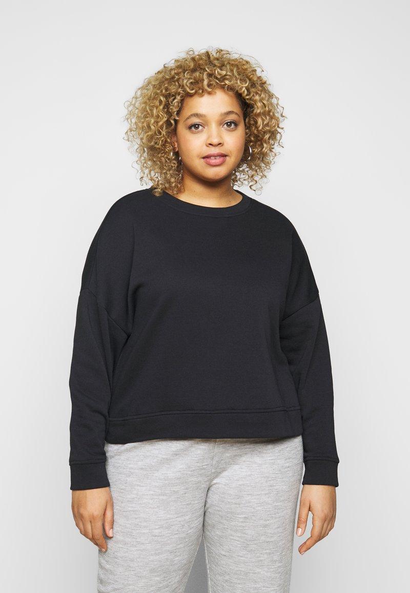 Pieces Curve - PCCHILLI - Sweatshirt - black