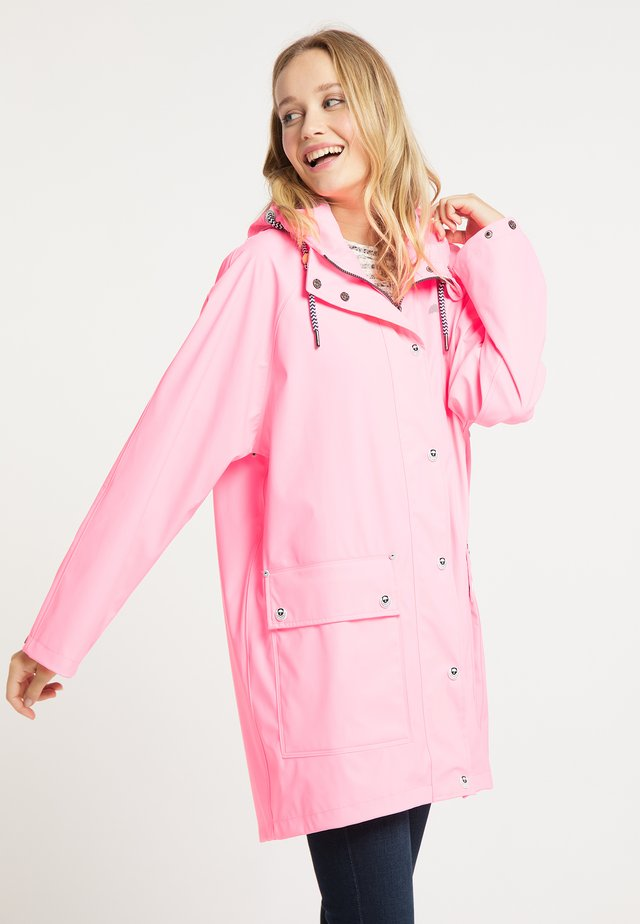 Parka - neon pink