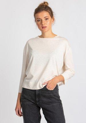 GIMA - Long sleeved top - beige