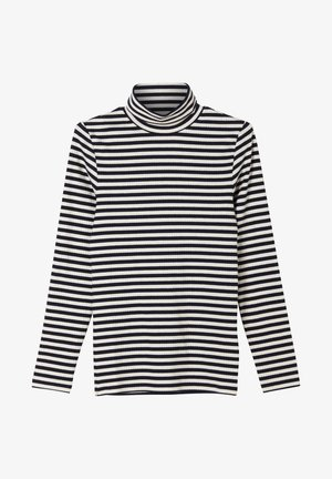 MIT STREIFEN - Long sleeved top - dark blue stripes