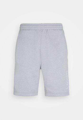 TECH SHORT - Korte broeken - silver chine/elephant grey