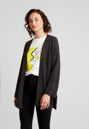 JDYCREA TREATS - Cardigan - dark grey melange
