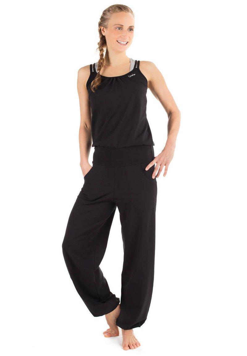 Winshape - Jumpsuit - schwarz