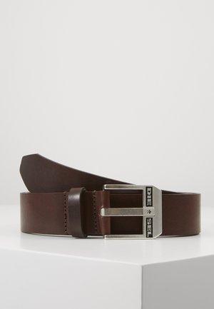 BLUESTAR BELT - Pásek - chestnut/argento america