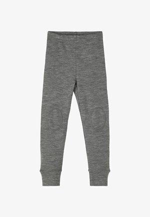 Tygbyxor - dark grey melange