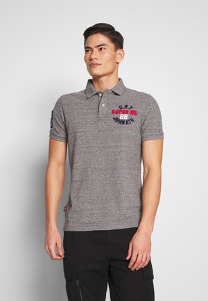 CLASSIC SUPERSTATE - Polo shirt - flint grey grit