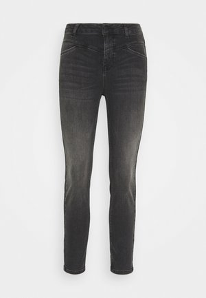 KAHADLEY 7/8 - Jeans slim fit - black washed denim