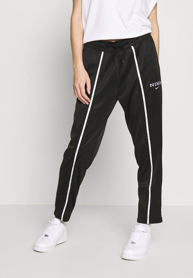 PANT - Spodnie treningowe - black/black/white