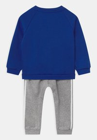 adidas Performance - LOGO SET UNISEX - Tracksuit - white/team royal blue/medium grey heather - 1