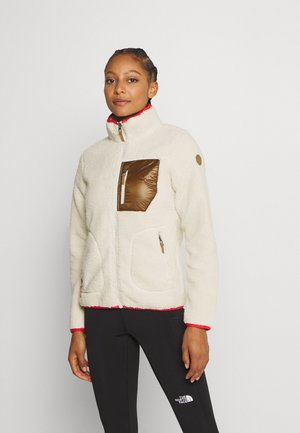 ANDALUSIA - Fleece jacket - natural white