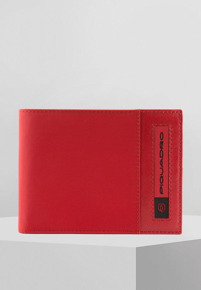 PQ-BIOS GELDBÖRSE 13 CM - Geldbörse - red