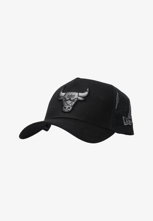 LIFESTYLE CLEAN TRUCKER CHICAGO BULLS  - Cap - schwarz