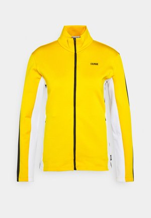 LADIES - Fleece jacket - sunflower/white/black