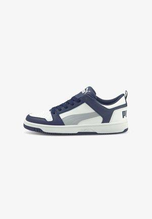 REBOUND LAYUP  - Baskets basses - elektro blue quarry white