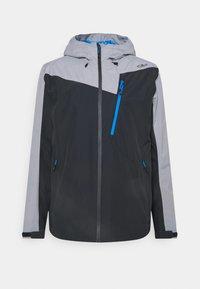 MAN ZIP HOOD JACKET - Outdoor jacket - antracite