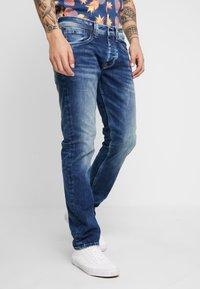 Pepe Jeans - CASH - Straight leg jeans - medium used powerflex - 0