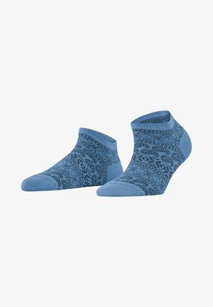 Trainer socks - cornflower blue