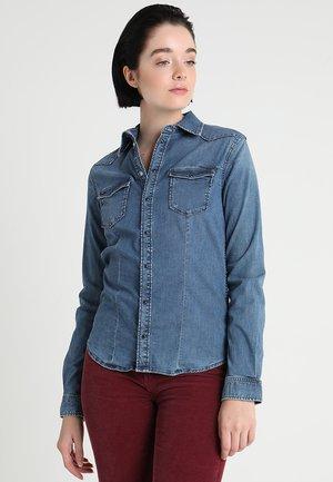 ROSIE - Button-down blouse - gp6 denim