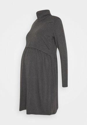 THEADORA - Žerzejové šaty - grey