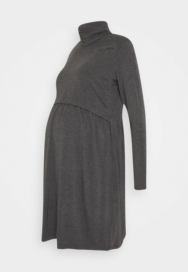 THEADORA - Jersey dress - grey