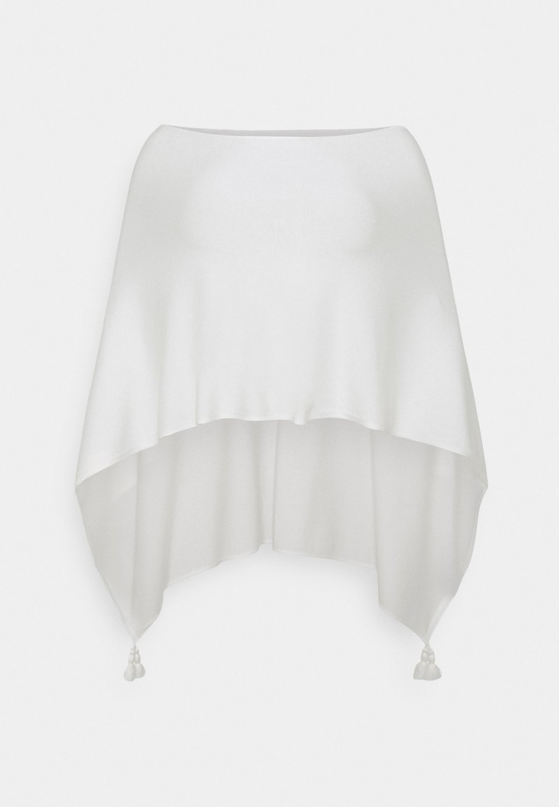 comma - ACCESSORIES - Poncho - white