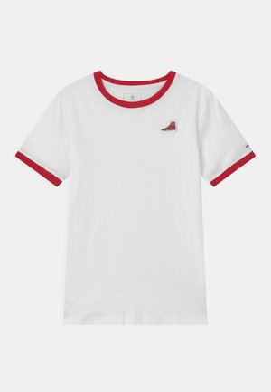 RINGER SNEAKER PATCH - T-shirt imprimé - white