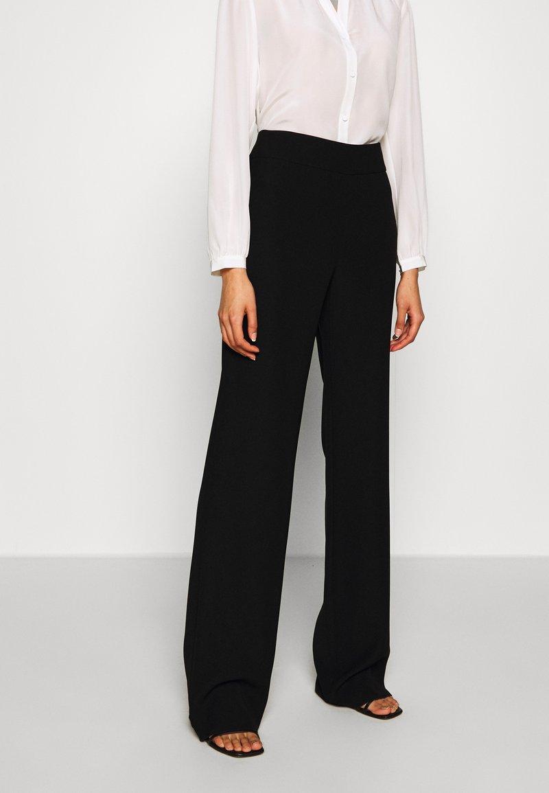 Emporio Armani - TROUSER - Trousers - black