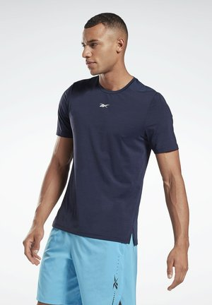 ACTIVCHILL MOVE T-SHIRT - Basic T-shirt - blue