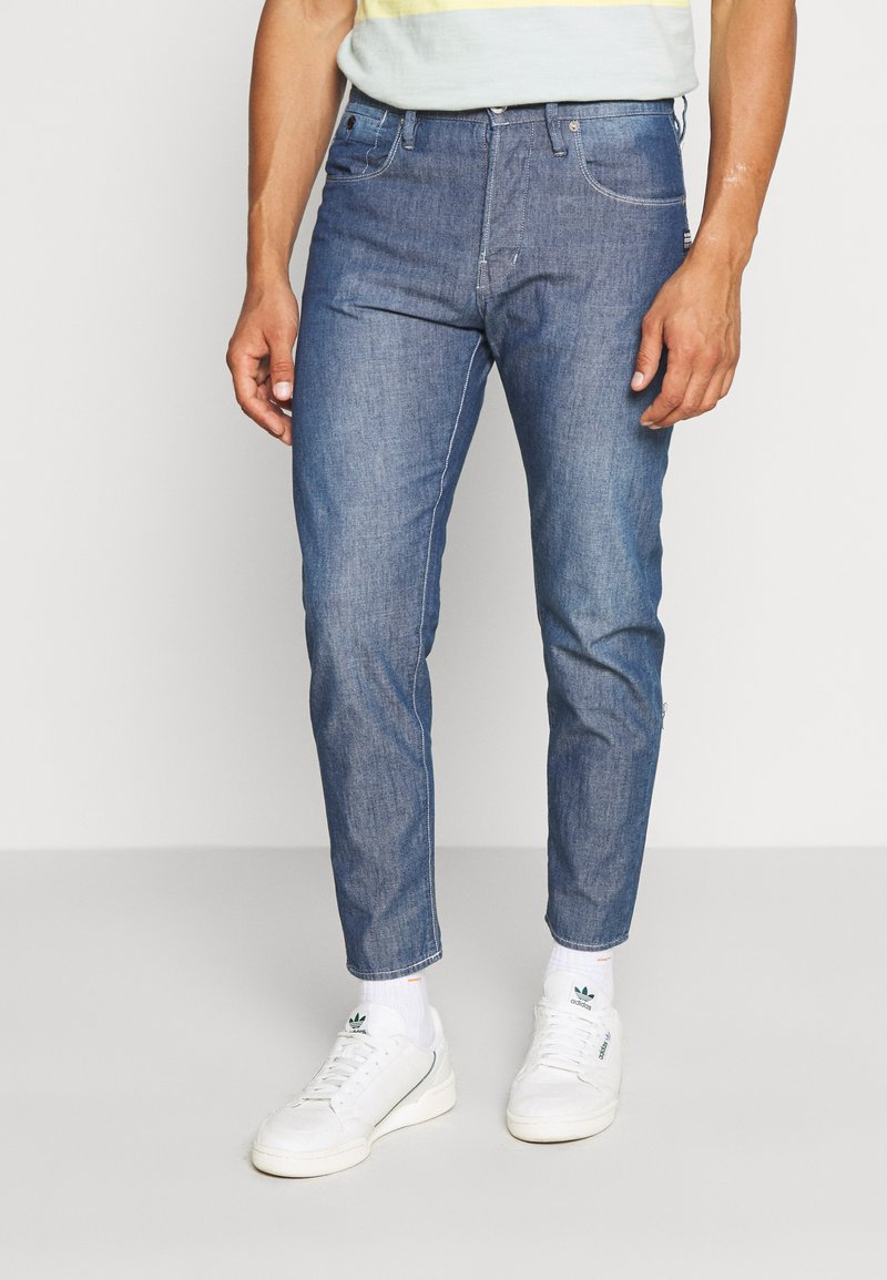 G-Star - LOIC RELAXED TAPERED - Jeans Tapered Fit - faded navy
