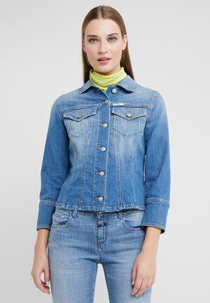 ARELI - Denim jacket - mid blue