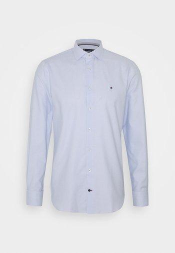 DOBBY CLASSIC SLIM FIT SHIRT - Kostymskjorta - blue