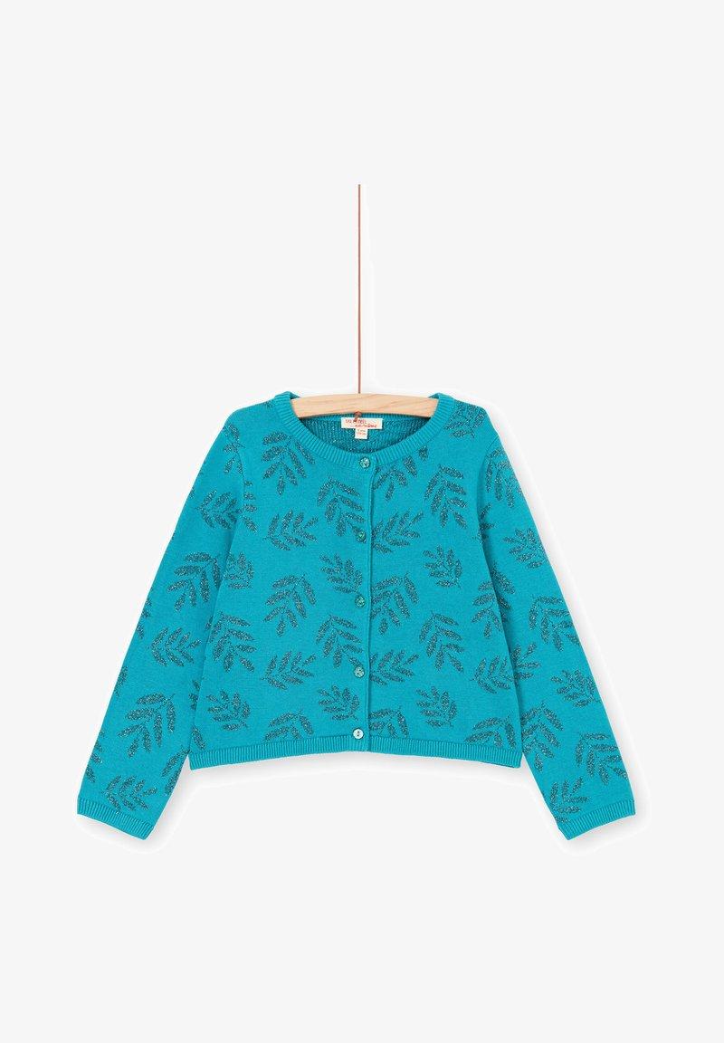 Du Pareil au Même - Cardigan - turquoise