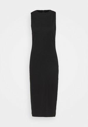SNAP DRESS - Shift dress - black