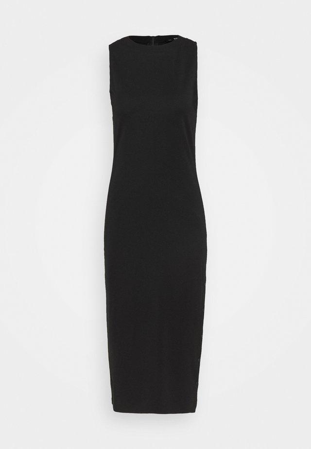 SNAP DRESS - Etui-jurk - black