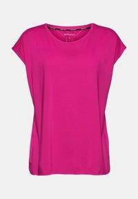 Esprit Sports - Basic T-shirt - berry red - 10