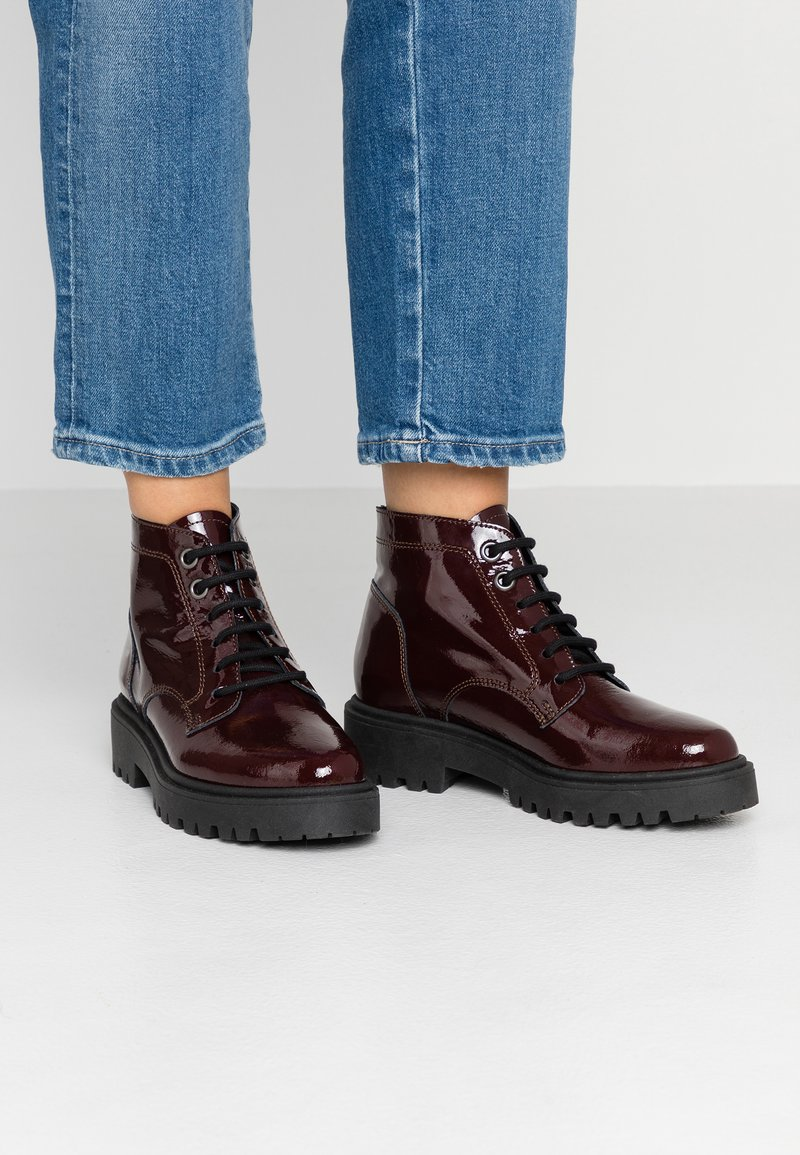 Esprit - RASHA - Ankle boots - bordeaux red