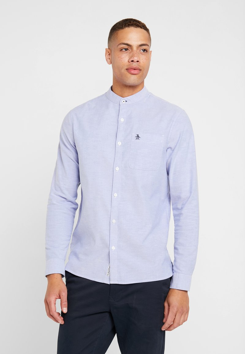 Original Penguin - OXFORD BANDED COLLAR - Košile - amparo blue