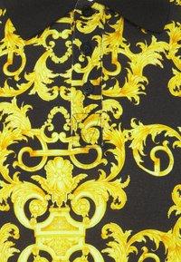Versace Jeans Couture - PRINT LOGO BAROQUE  - Polo - black - 6