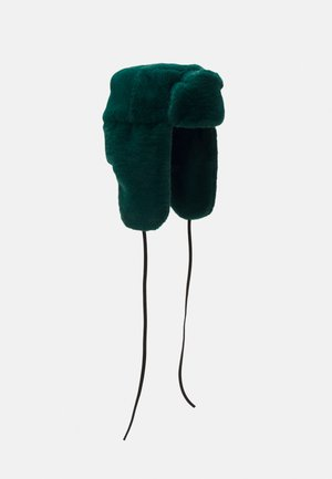 WOMEN HAT TRAPPER - Beanie - green