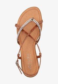 Scapa - SCAPA ZEHENSTEG - Sandals - brown - 1