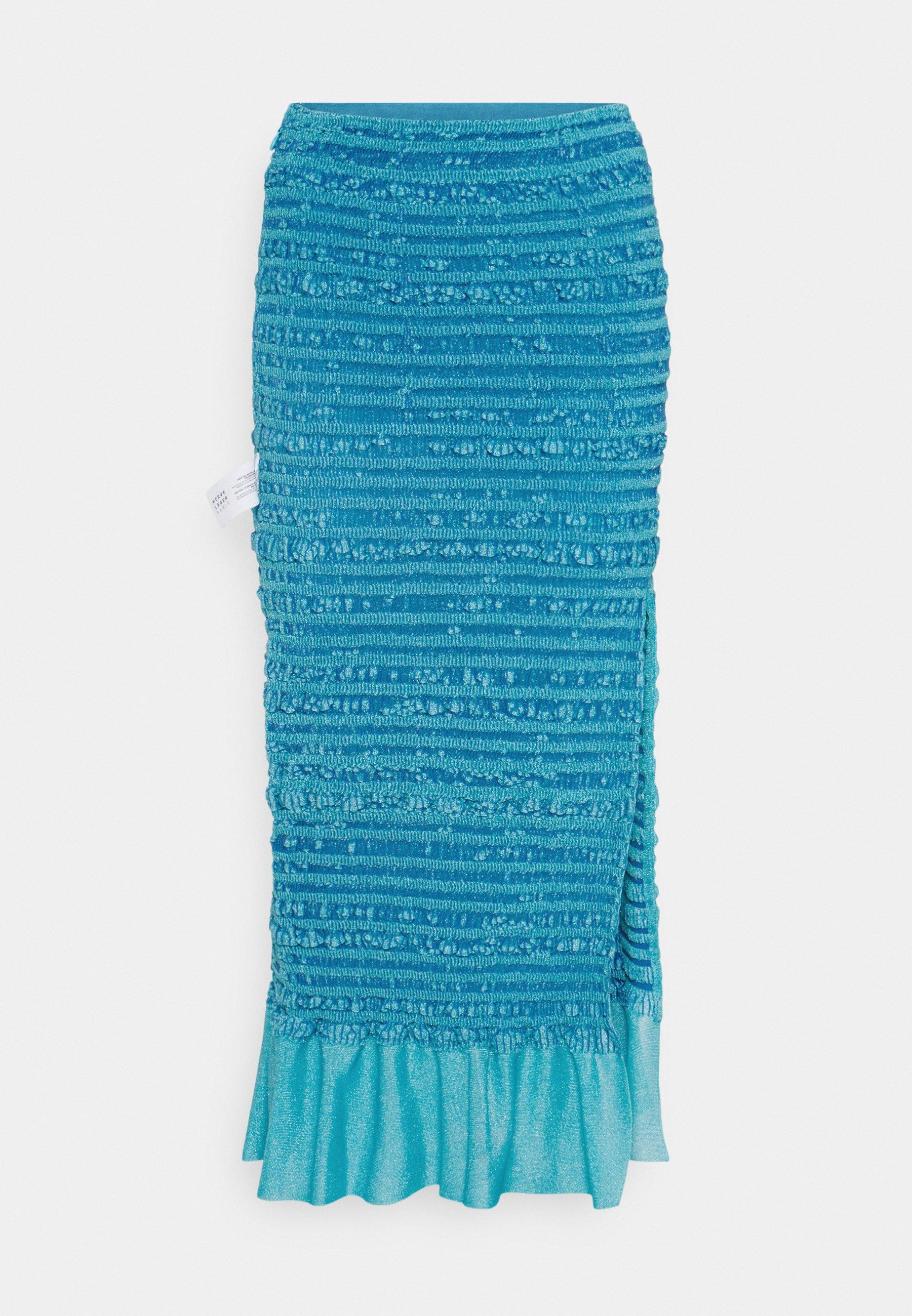 Women PUCKERED STITCH PENCIL SKIRT - Pencil skirt