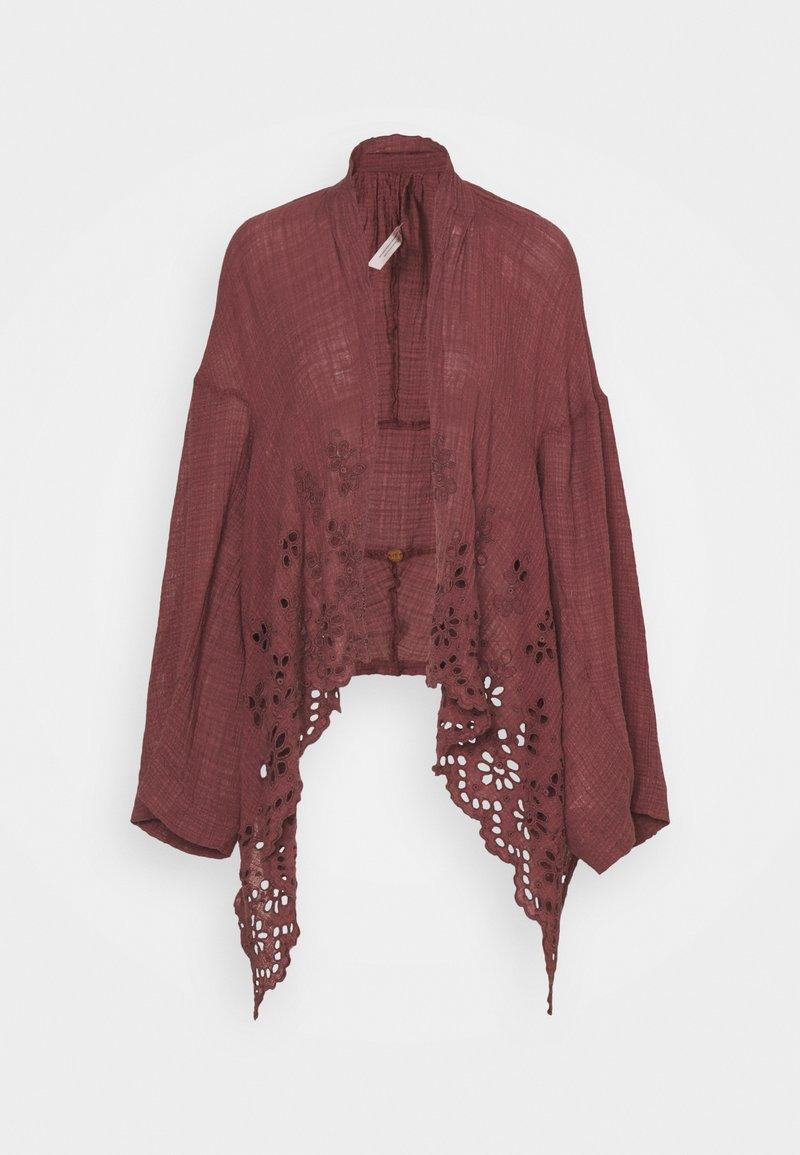 Free People - AMAIRA KIMONO - Summer jacket - washed mauve