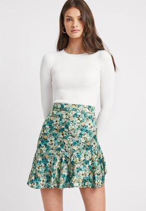 AU PETUNIA - A-line skirt - nx green