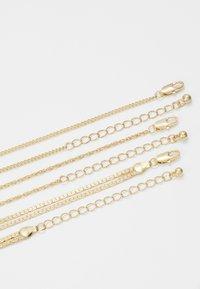 Pieces - PCJEBRUK COMBI NECKLACE - Necklace - gold-coloured - 2