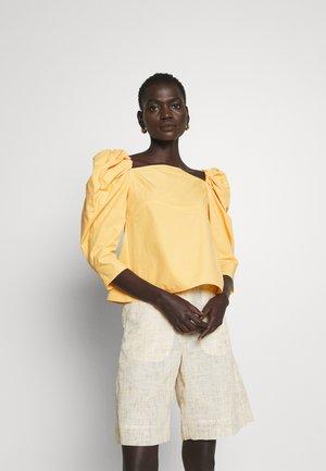 ANITA BLOUSE - Blouse - blend yellow