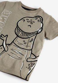 Next - TOY STORY REX DINO 3D SPIKES JERSEY T-SHIRT - T-shirt print - grey - 2