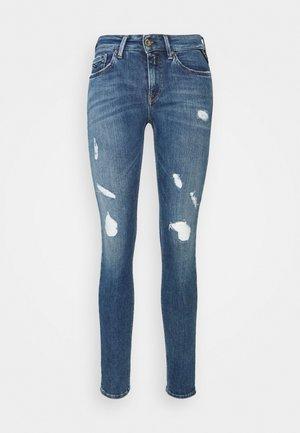 NEW LUZ PANTS - Jeans Skinny Fit - medium blue