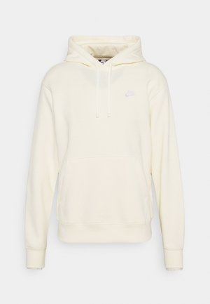 CLUB HOODIE - Sweat à capuche - coconut milk/white