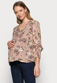 Pieces Maternity - PCMPAOLA  - Blouse - warm taupe - 3